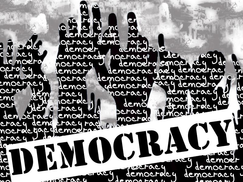 International Day of Democracy: 'Civilian leaders slow to act on devolution'. DESIGN: SUNARA NIZAMI