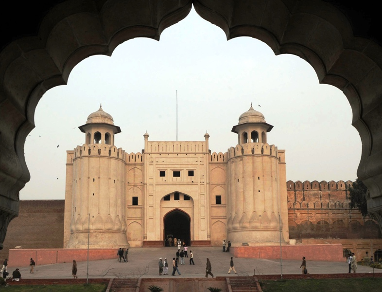 We must save Lahore Fort from ruin. Everyone should contribute to the restoration work, says Lahore Heritage Foundation  Chairman Syed Babar Ali. PHOTO: AFP/FILE