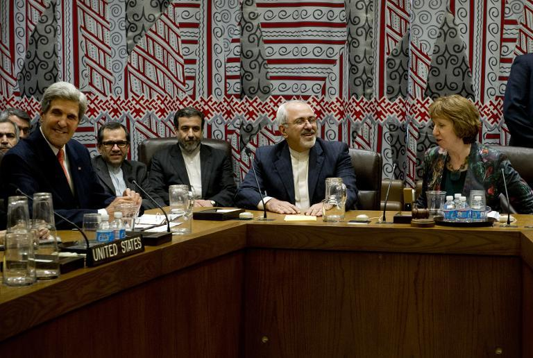 Iran believes it can wrap up negotiations with world powers over its disputed nuclear programme in one year or less. PHOTO: AFP