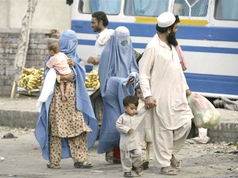 The SAFRON minister requested international humanitarian organisations to assist in ensuring timely and safe return of Afghan refugees to their home country. PHOTO: FILE