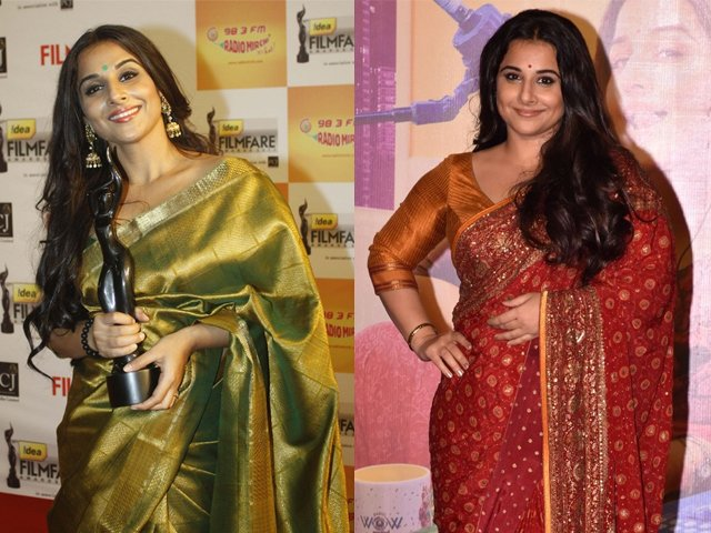 Vidya Balan surprised no one by winning the award for Best Actor in a Leading Role (Female) at the 2018 Filmfare Awards.