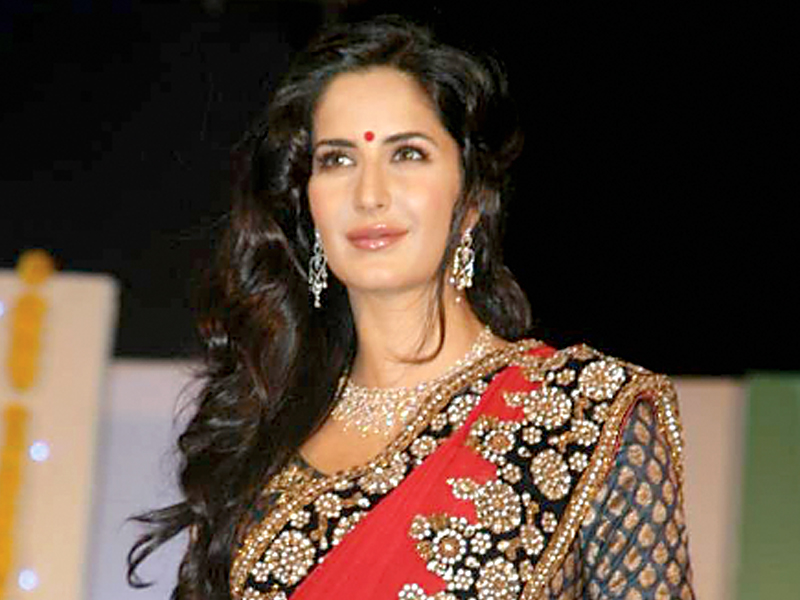 Katrina Kaif reigns supreme on a poll that ranks Asia's sexiest woman despite low key appearances this year. PHOTO: FILE