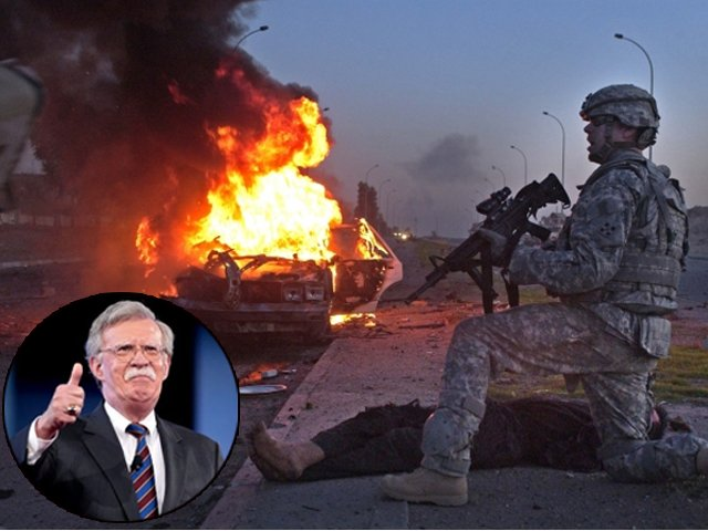 "John Bolton still claims the Iraq War was worth the cost and that, in his mind, the worst decision involving Iraq was the ""2011 decision to withdraw US and coalition forces""."
