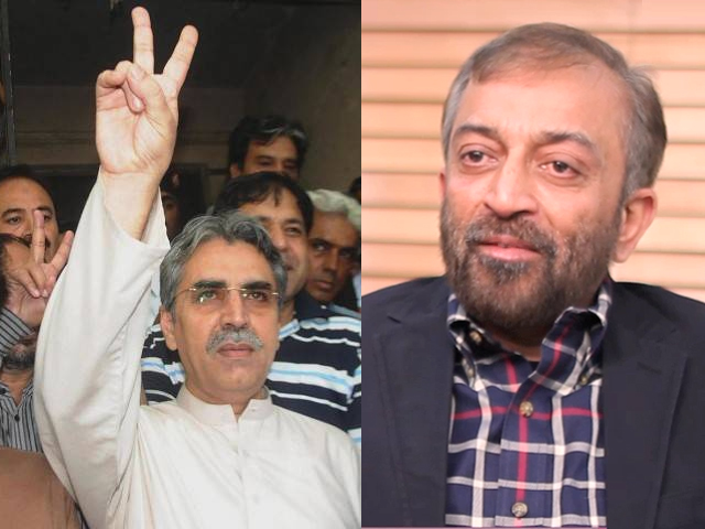 Many people from Karachi have stopped taking interest in politics, because the non-serious behaviour by the leadership of the MQM has broken our hearts.