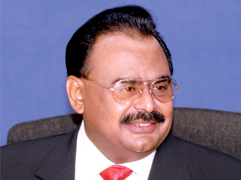 Altaf Hussain says cases against Musharraf are a conspiracy to divert attention from the real issues and problems faced by the country.  PHOTO: FILE