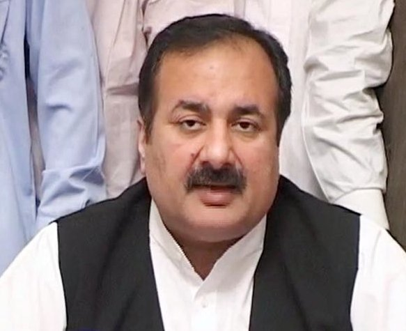 Minister for Sports, Education and Youth Affairs Rana Mashhood Ahmed Khan. PHOTO: INP