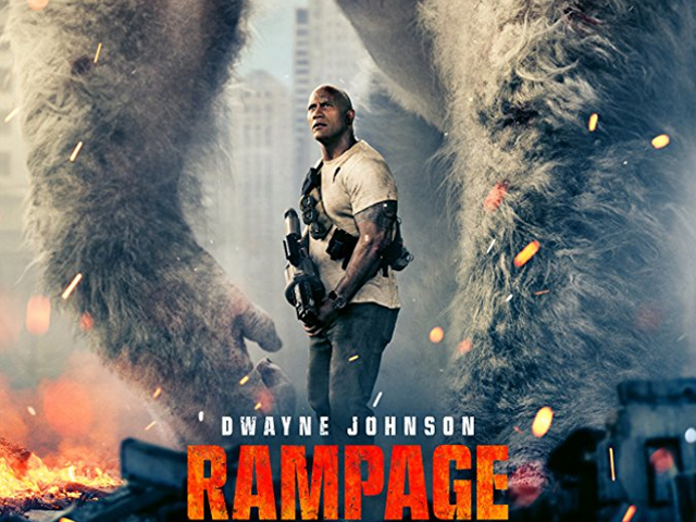 Rampage has a lighter tone, which suits the source material and plays in the film's favour. PHOTO: IMDB