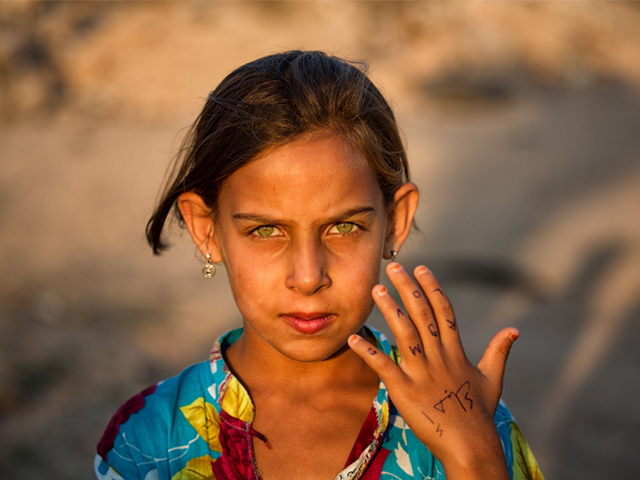 Laila had started going to the potato fields to work with all the other refugee camp children. PHOTO: FLICKR/ MIMO KHAIR