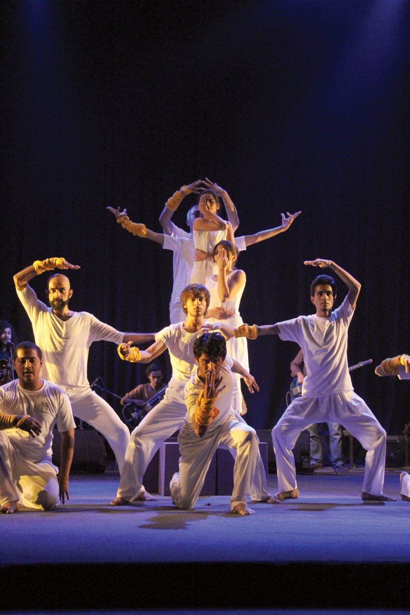 The first day of the NAPA Theatre Festival 2014 started off with NAPA president Zia Mohyeddin's inaugural speech and featured preview dance performances and plays. PHOTOS: AYESHA MIR/EXPRESS