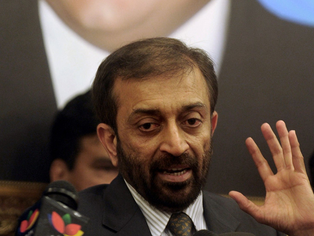 MQM leader Farooq Sattar. PHOTO: AFP/FILE