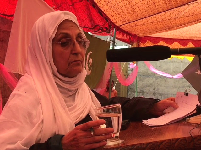 Despite already having so much to her credit, Ali Begum wants to do something for the women who haven't yet gotten the dividend of freedom and prosperity. PHOTO: YOUTUBE/ PARACHINAR PRESS