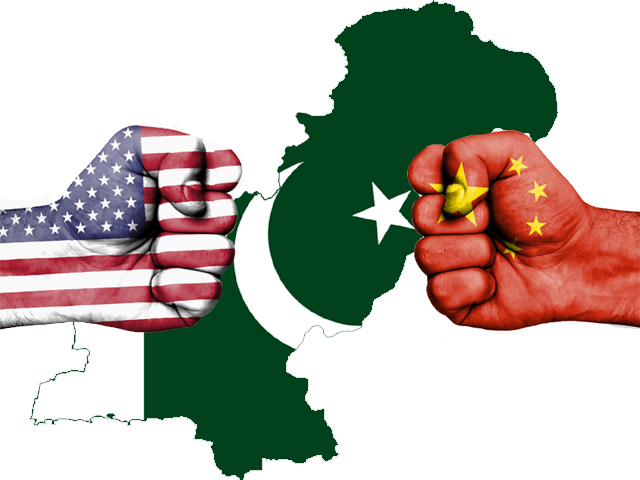 The US has made it a political matter by opposing the IMF's support to Pakistan, as it would resultantly benefit Beijing.
