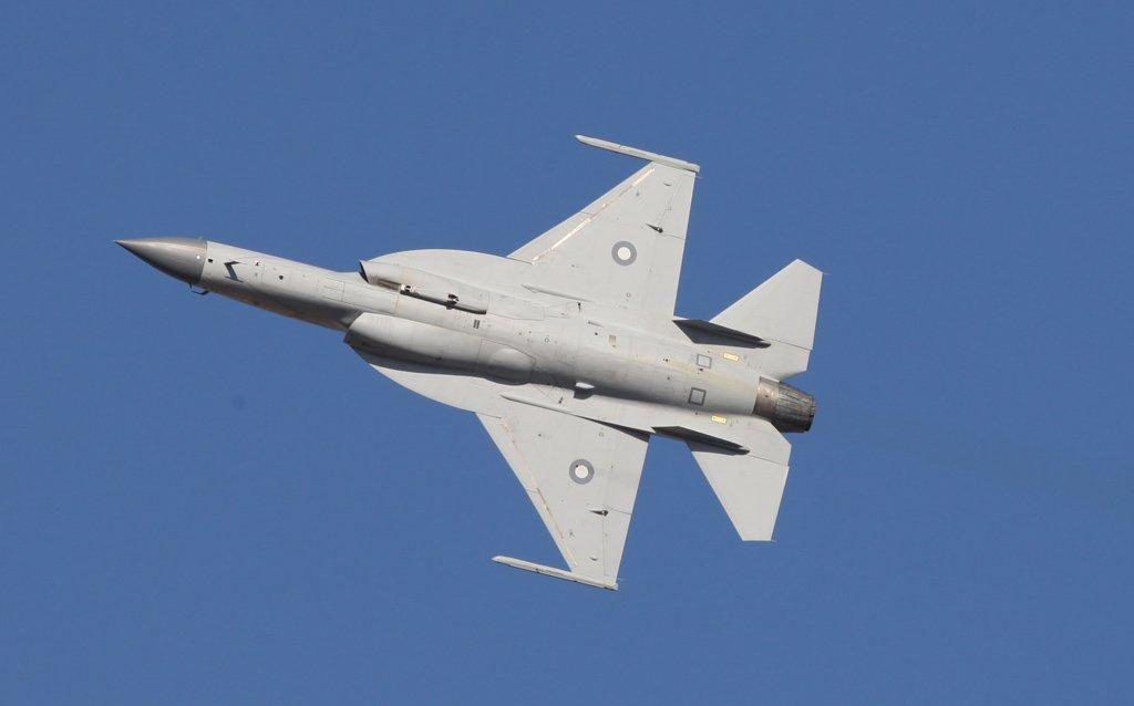 A file photo of Pakistan's JF-17 Thunder. PHOTO: PAF