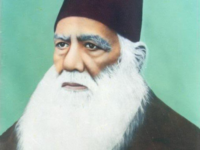 The year 2017-2018 is being celebrated as the centenary year of Sir Syed's birth in both India and Pakistan. PHOTO: APP
