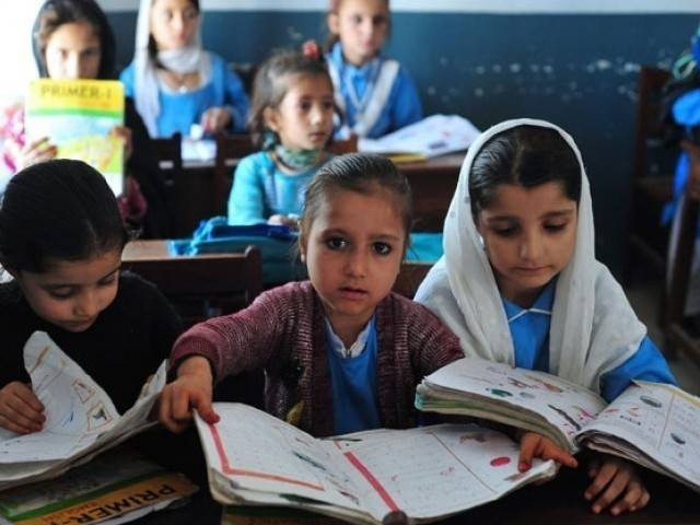 PTI government has also banned any sort of media coverage of all-girls' school activities and events. PHOTO: REUTERS