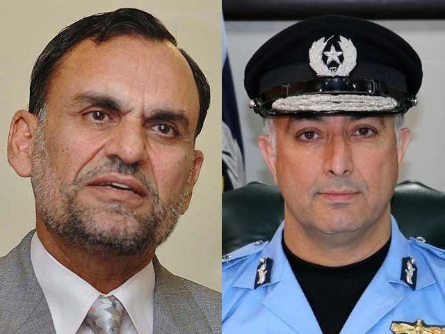 A matter rumoured to be all over a cow, it ultimately led to a complaint from Azam Swati and the removal of the Islamabad IGP Jan Muhammad.