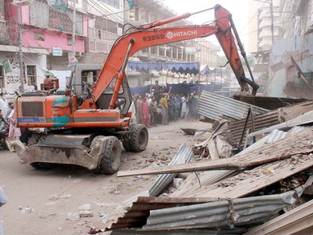 Over 70 eateries have been demolished thus far, while many others have been impacted in some way or another by the destruction surrounding them. PHOTO: NNI