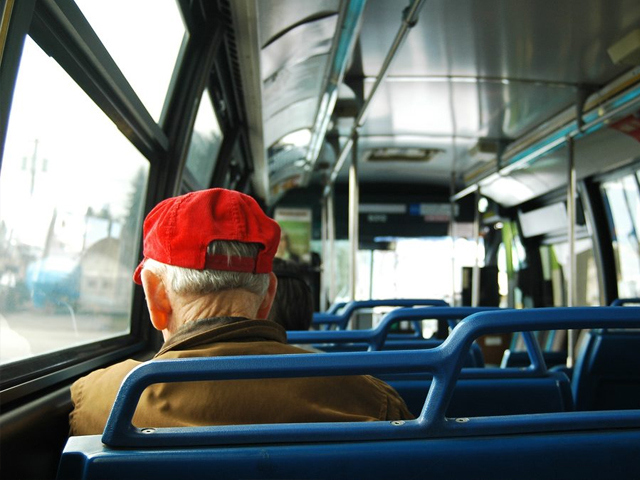 In this bus, he was just another passenger. His body, another body. PHOTO: FLICKR