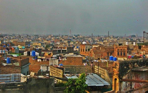 A view of present day Rawalpindi downtown. PHOTO: SAIF TAHIR