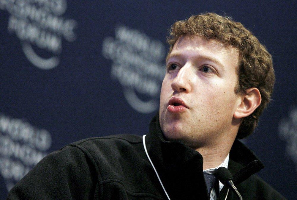 Facebook CEO Mark Zuckerberg. PHOTO: EPA