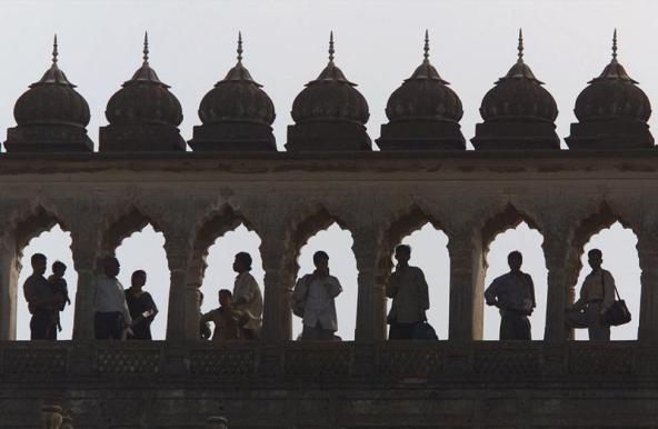 Lucknow's 1784 Bara Imambara, pictures in 2002. PHOTO: REUTERS