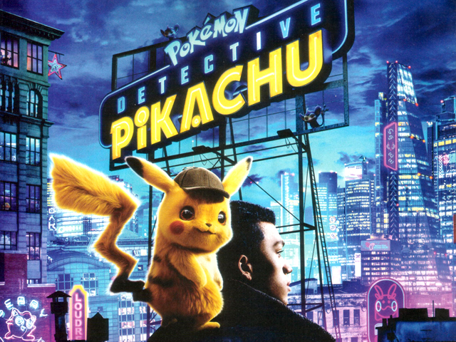 Detective Pikachu is based on the video game series of the same name and shows Pokémon and humans living side by side. PHOTO: IMDB