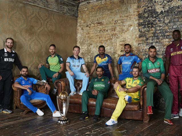 A group shot during the Captains Media Day prior to the ICC Cricket World Cup 2019. PHOTO: GETTY