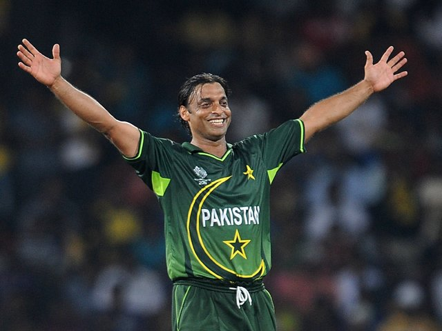 Shoaib retired from cricket during the last World Cup in 2011, and is presently working as a commentator and a cricket expert. PHOTO: AFP