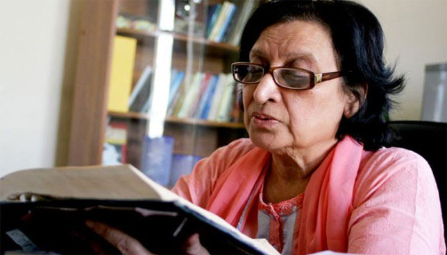 According to her sister, Najma Manzoor, she left us with her last unpublished poem Daftar-e-Imkaan (A World of Possibility). PHOTO: PUBLICITY
