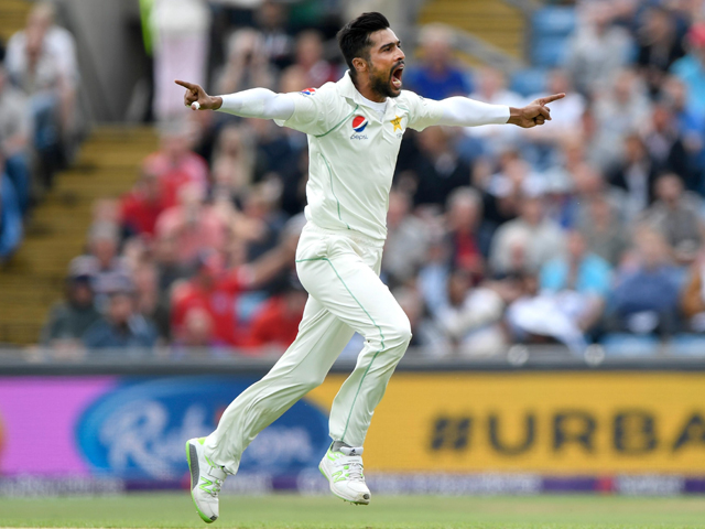 Tt appears that Test cricket has simply not attracted Amir, even though his numbers in the format have been decent. PHOTO: AFP