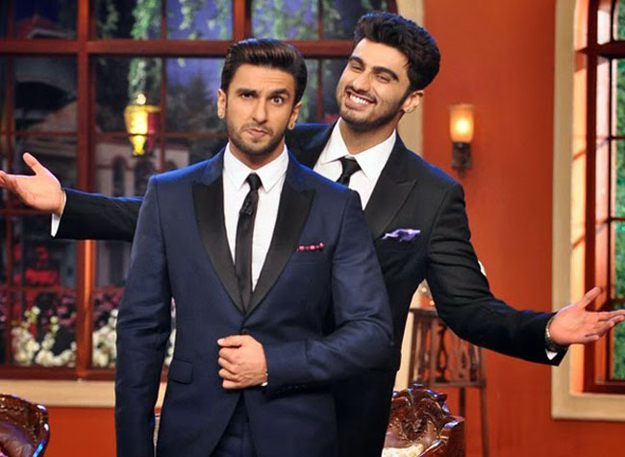 This is the first time Ranveer and Arjun will be jointly hosting any award function. PHOTO: INDIATODAY
