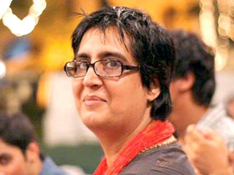 Sabeen Mahmud. PHOTO: FILE