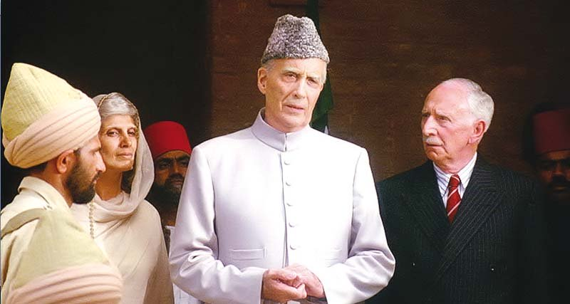Christopher Lee plays the role of Jinnah in the film and considers it his most iconic performance to date. PHOTO:  PUBLICITY
