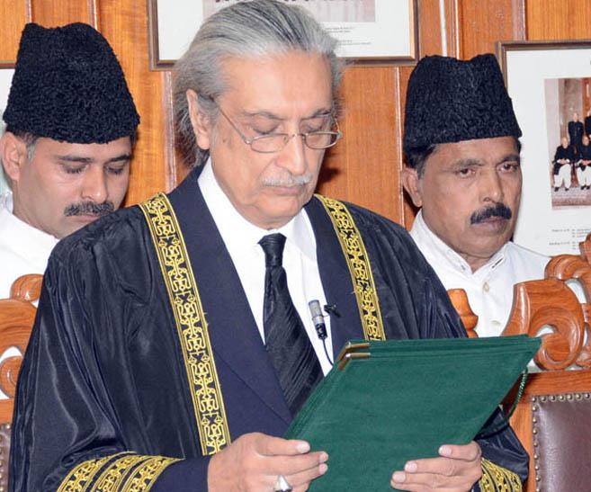 Justice Jawwad S Khawaja. PHOTO: PID