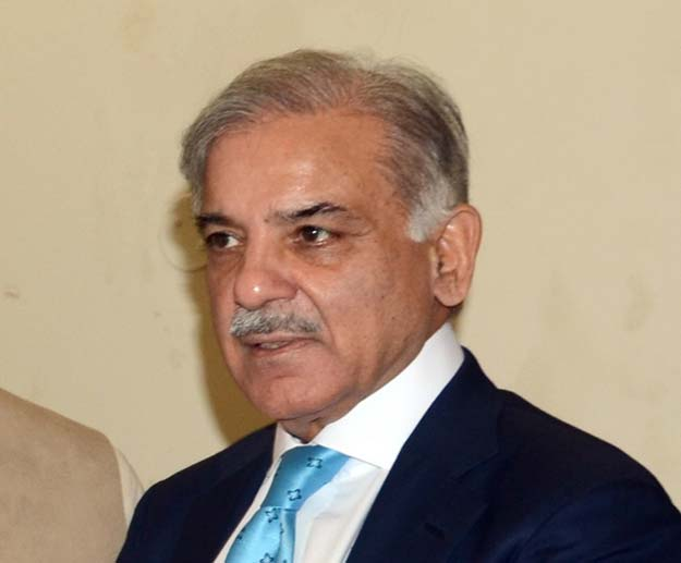A file photo of Punjab Chief Minister Shahbaz Sharif. PHOTO: EXPRESS