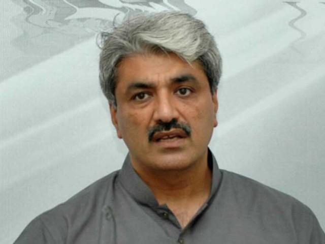 Adviser to Chief Minister on Health Khwaja Salman Rafique. PHOTO: WASEEM NIAZ