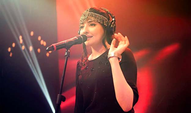 Gul Panrra on debut in 'Coke Studio' and making it big as a female singer from Khyber-Pakhtunkhwa. PHOTO: PUBLICITY