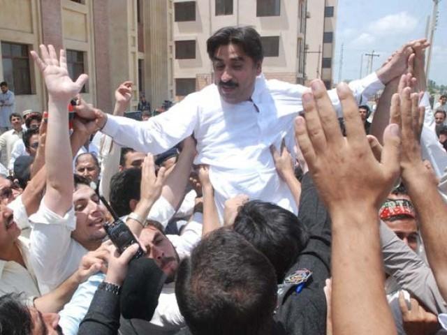 Ziaullah Afridi. PHOTO: SAMEER RAZIQ/EXPRESS