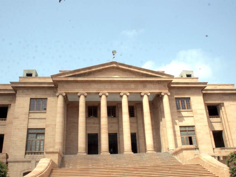 Sindh High Court building. PHOTO: EXPRESS