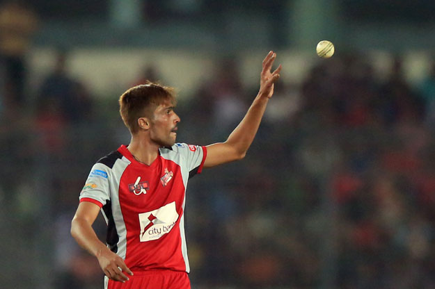 Muhammad Amir is currently playing for Chittagong Vikings in BPL. PHOTO: AFP